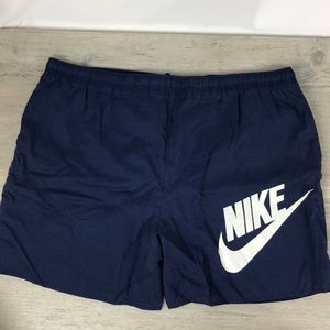 Nike Vintage 90s Red Tag Swim Trunks XL